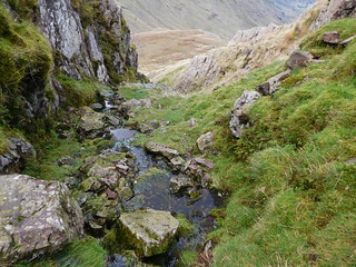 46 - Making my way down the Ruddy Gill feeder watercourse | by samashworth2