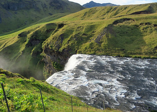 skogafoss-from-above | by quirkytravelguy