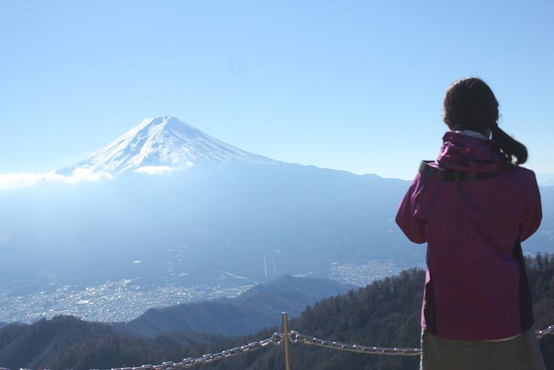 三つ峠の山頂