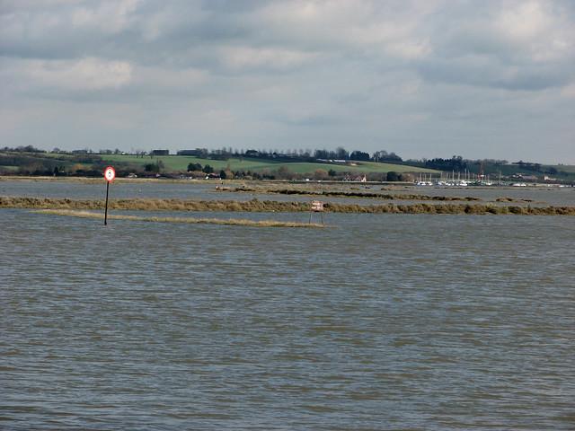 The River Crouch near North Fambridge