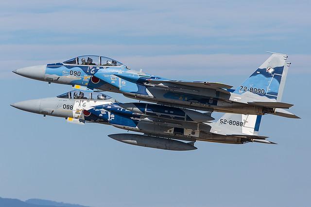 72-8090, McDonnell Douglas F-15DJ Japan Air Self Defence Forces @ Nyutabaru RJFN