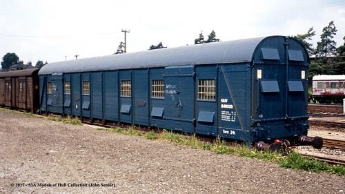 britishrail southernrailway sceneryvan guv s4602s npcs train railway locomotive railroad andover hampshire