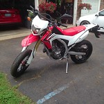 Fwd: CRF250L supermoto