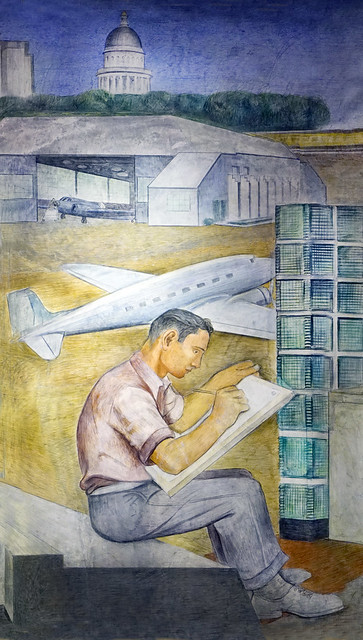 """""""Importance of Education in Sacramento"""" by Ralph Stackpole Sacramento College - airport drafter"""