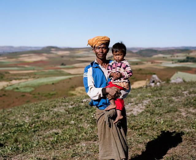 Farmer & Daughter