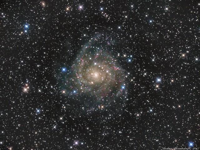 IC 342 - Caldwell 5 - The Hidden Galaxy