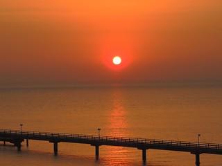 Sonnenaufgang über der Ostsee
