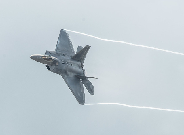 F-22 Raptor Wingtip Vortices