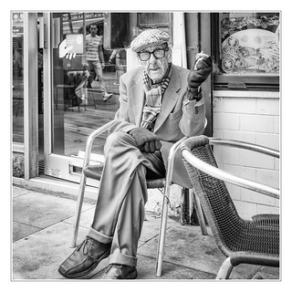 Calmness in old age