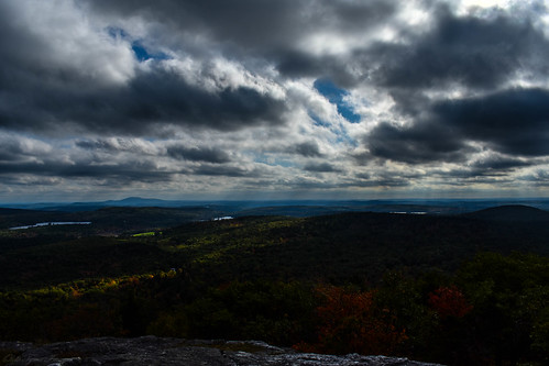 massachusetts mountain fall foliage summit clouds pond landscape newengland nikon ngc flickr wilderness explore