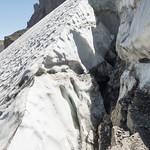 Crevasse in Schoolroom Glacier