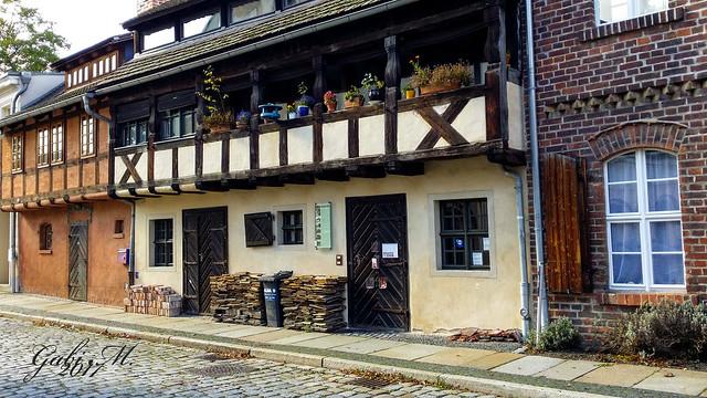 Historische Weberhäuser