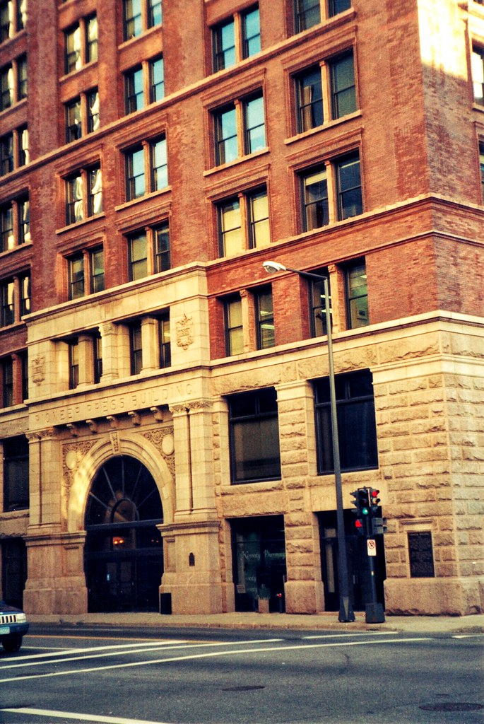 St Pauls Minnesota Pioneer Press Building Historic Flickr