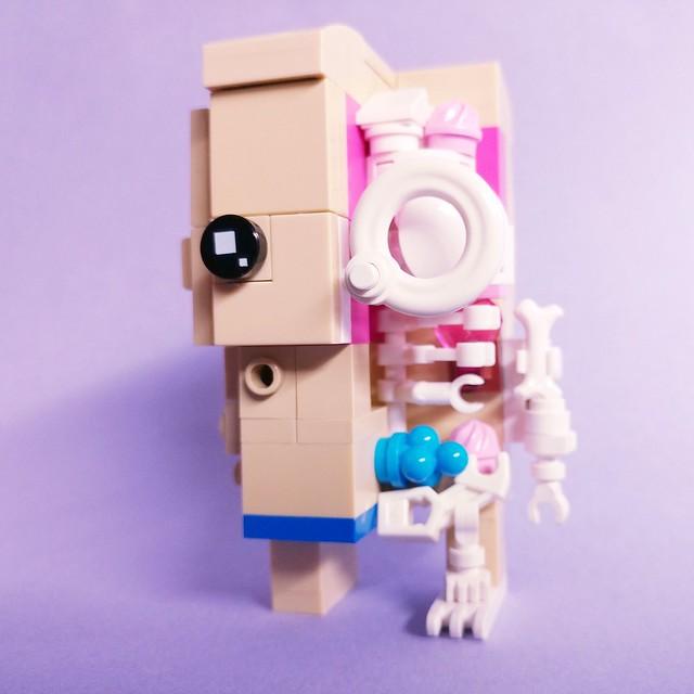 BrickHeadz Anatomic#legomoc#anatomic#brickheadz#レゴ#jasonfreeny#xray#negativephoto#skeleton#legocreation#lego#legomocs#legos#brick #legophoto#legoart #bricks#legobricks#inside#大解剖#legostagram#legography