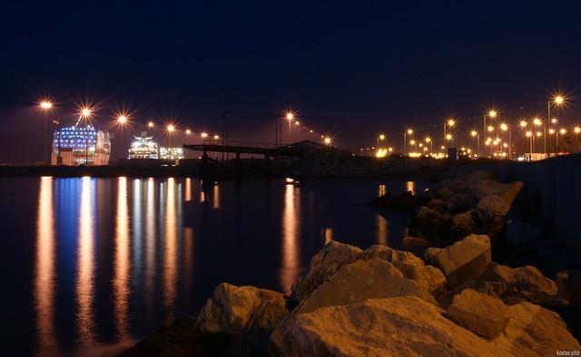 New port of Patras city