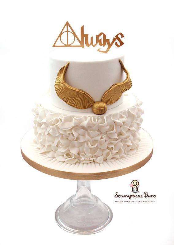Harry Potter Wedding Cake.Harry Potter Wedding Cake Samantha Douglass Flickr