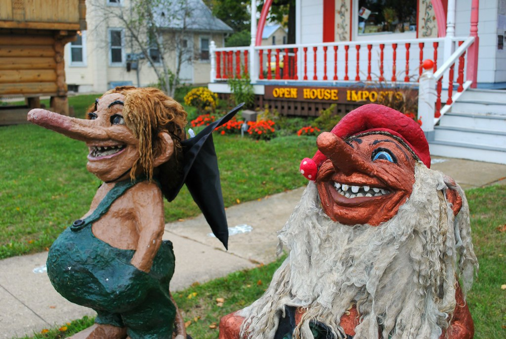 Mount Horeb, Wisconsin Trolls (Trollway)   More than 70% of
