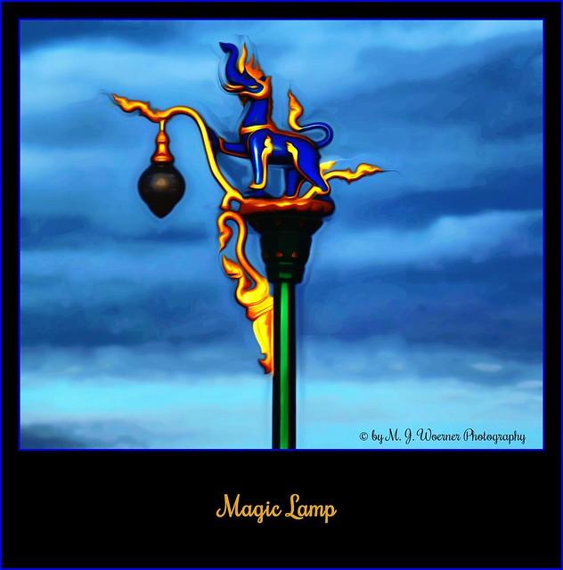 Magic Lamp 10/12