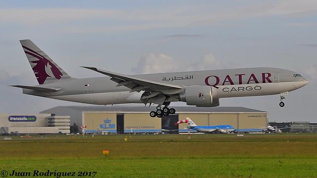 A7-BFA - Qatar Airways Cargo - Boeing 777-FDZ - AMS/EHAM