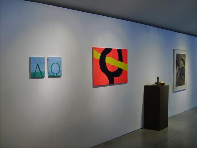 Jan Theuninck in Alpha & Omega exhibition - Ypres, 2017