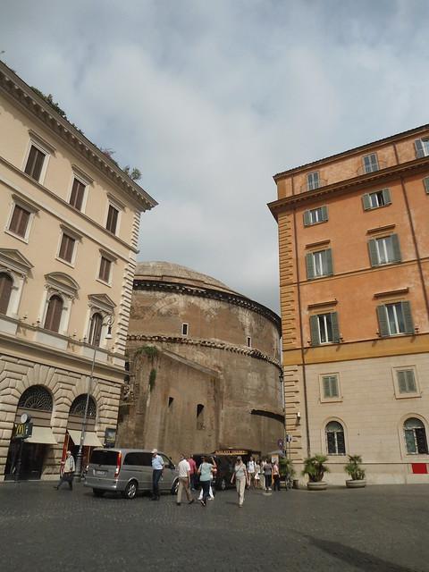 Pantheon & Piazza della Minerva, Roma, Italia - www.meEncantaViajar.com