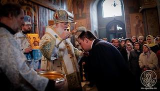 Литургия в Софийском соборе 425