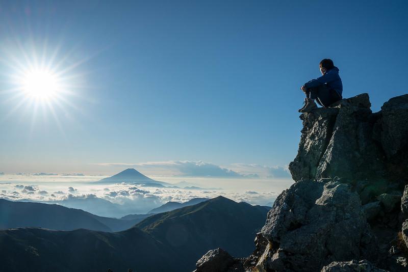 Mount Shiomi in Japan