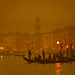A Moody Venice In The Fog At Night by Trey Ratcliff