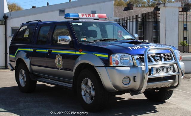 Kilkenny Fire & Rescue Service / KK 16 J1 / 03 KK 1137 / Nissan Navara / 4x4 Vehicle