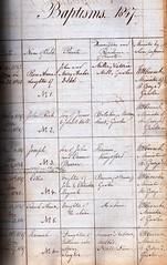 Baptisms St Georges Church 1847 (1)