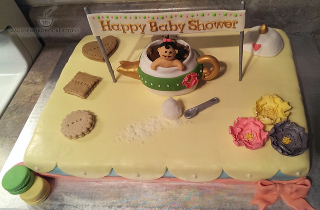 Baby Shower Theme Cake