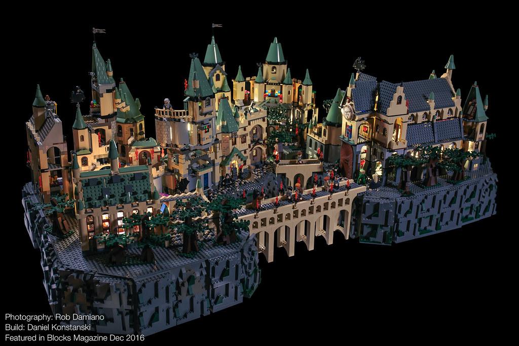 Blocks Mag: Harry Potter Hogwarts 01