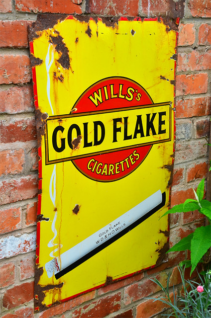 Wills Gold Flake.