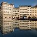 Perfect reflection @ Piazza Santa Maria Novella (Florence) by PaulHoo
