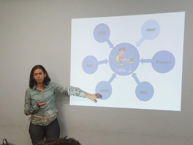 Apresentação do Projeto Mosaic na plenária do Fórum Bem Maior - interação com a comunidade 17-07-13