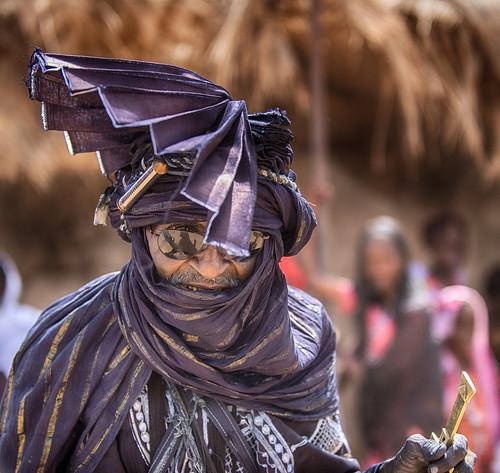 niger touareg man agadez