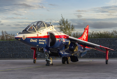 raf cosford 238 squadrons hawker siddeley harrier t4 vaac registration xw175 jump jet ground attack kev gregory canon 7d propulsion sootie british close air support nuclear strike role qinetiq active control technology rasberry ripple sunset dusk red white blue vectored thrust aircraft advanced