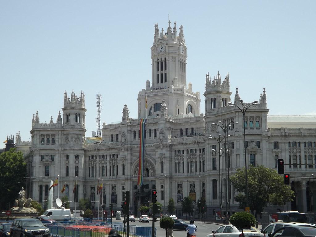 Palacio De Cibeles Madrid Spain Palacio De Cibeles Cybe