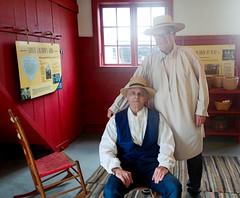 Hancock Shaker Village - Elders Damian and Peter