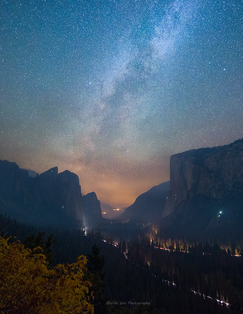 Reverse Tunnel View at Night