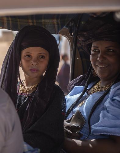 niger agadez bianou festival daughter mother