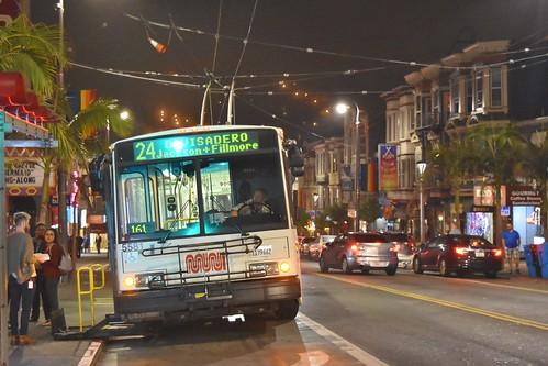 MUNI 5881 Castro Street - San Francisco - September 7, 2017