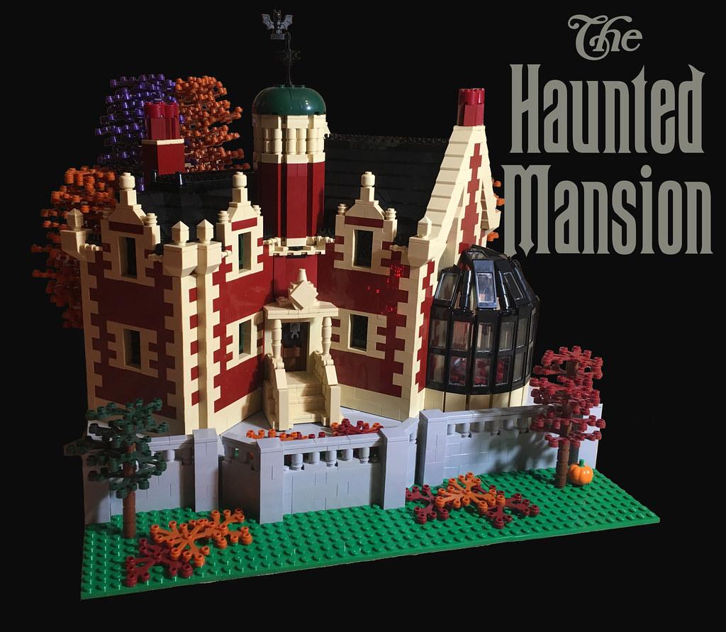 lego disney u0026 39 s haunted mansion