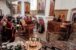 Литургия в Хутынском монастыре 290