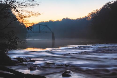 atl atlanta jonesbridge morning parks ruins longexposure shoals bridge
