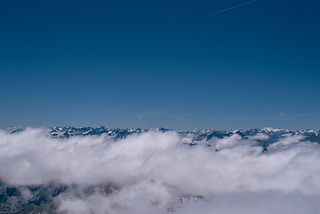 On the top of the alps   by knipslog.de