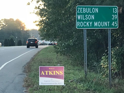 Holly Atkins for Knightdale NC Town Council. REPRESENTATION FOR ALL.