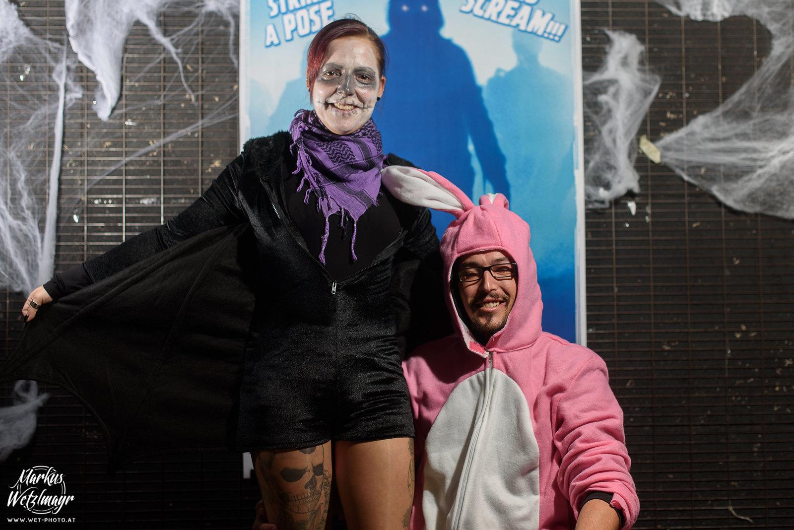 """#12 - Markus Kastenberger & Monique Vost, """"Hase und Fledermaus"""" - Everyday is Halloween, 15 Years of BZFOS"""