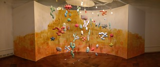 Installation at Seattle Asian Art Museum: Between Consciousness | by Junko Yamamoto