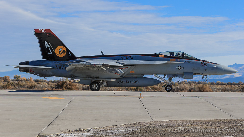 Boeing F/A-18E Super Hornet of VFA-31